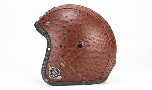 XC Scorpion Helmet Personality Brown