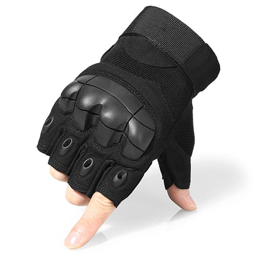 Jiusy Half Finger Gloves