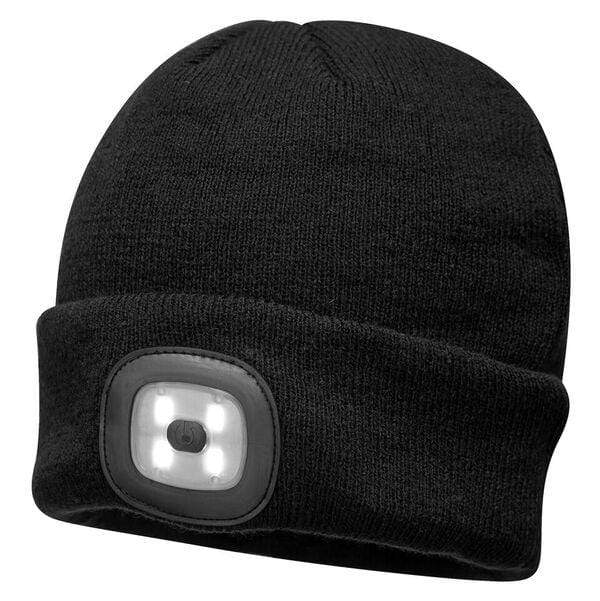 0264efee8 Portwest Beanie LED Head Light BO29 Only Orange And Black Available