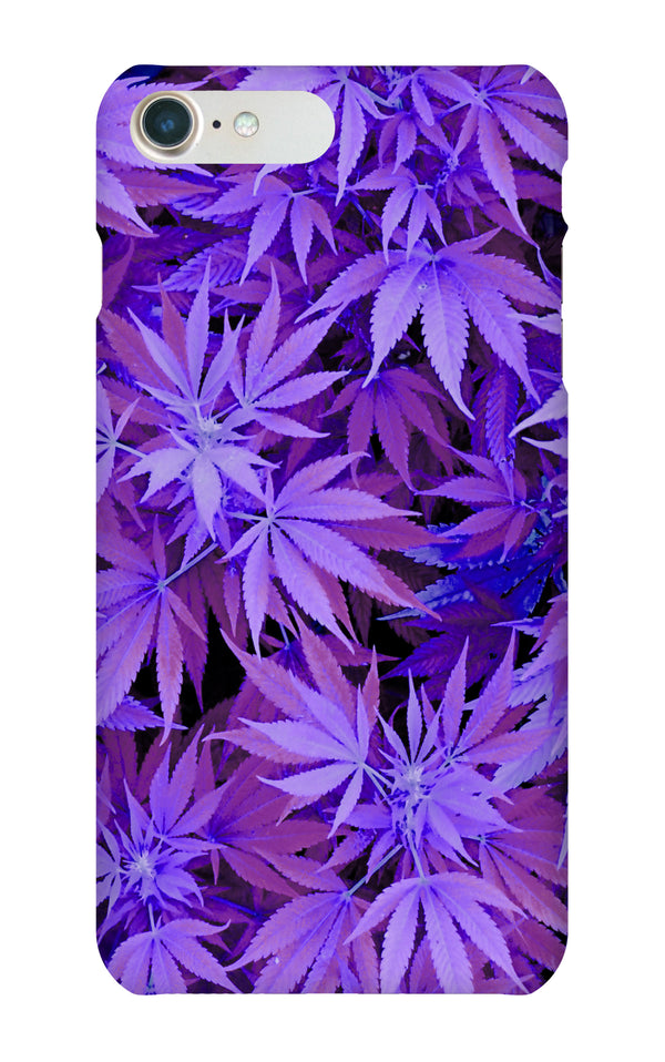 Purple weed case