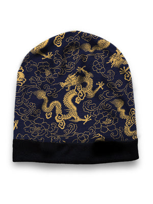 Gold dragon hat