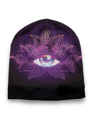 Purple Eye hat