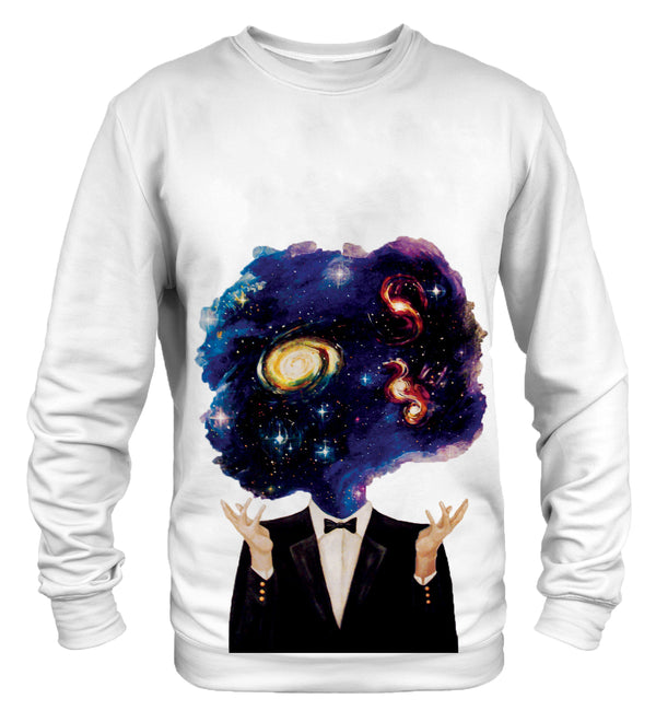 Space mind sweatshirt