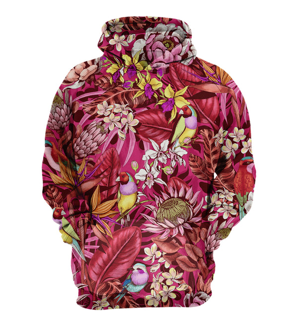 Trippy forest hoodie