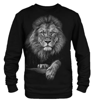 Lion Portrait sweatshirt