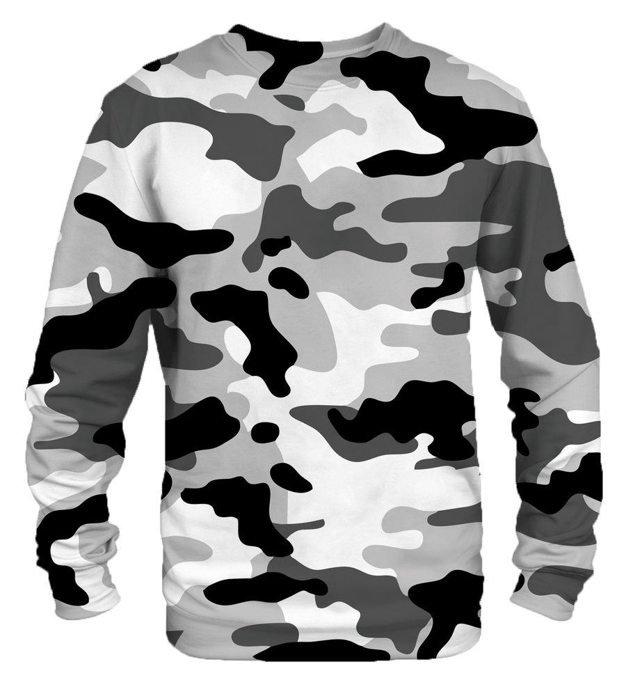 Black camo sweatshirt