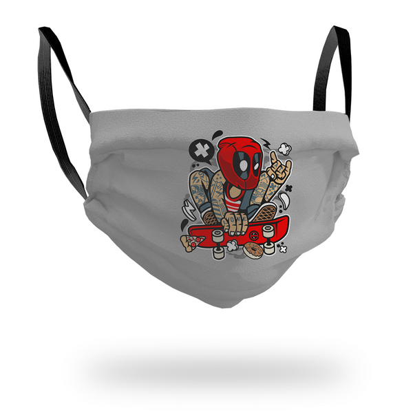 Deadpool Skater Mask