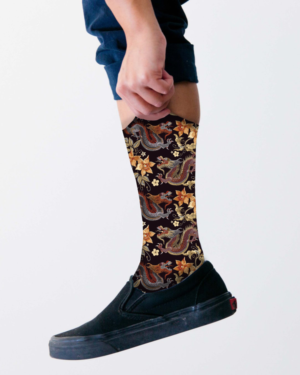 Dragon socks
