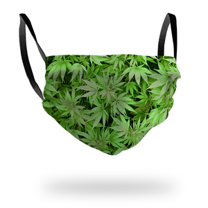 Green Weed Mask