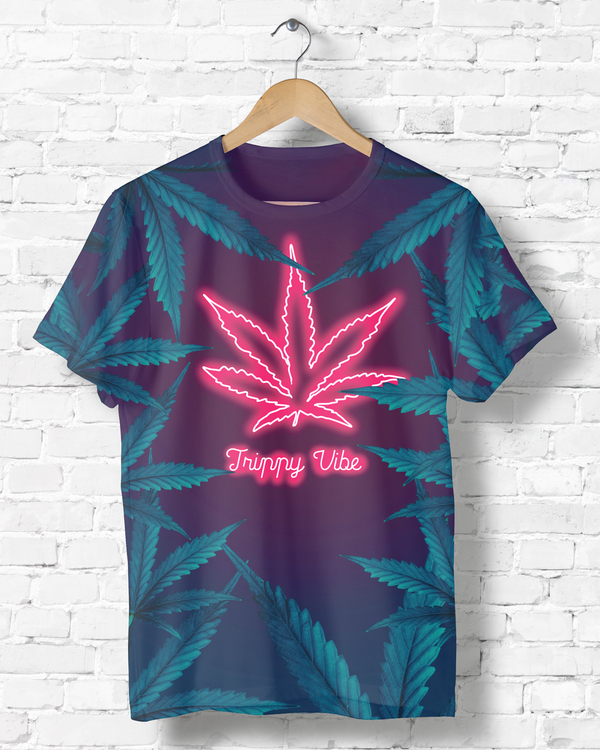 Neon Weed T-shirt