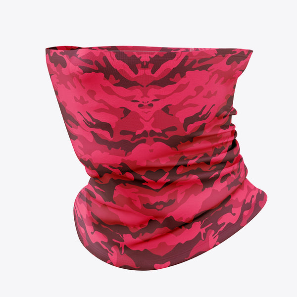 Pink camouflage Mask