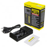 Battery Charger NiteCore Intellicharge i2 - Puff Puff Palace