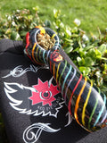 Red Eye 'Black Rainbow' Pipe - Puff Puff Palace