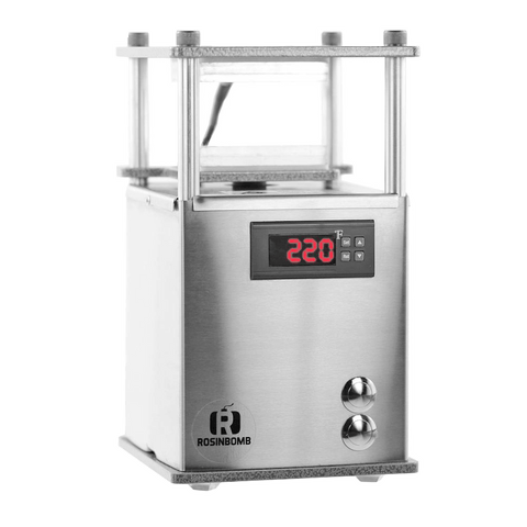 "RosinBomb ""Rocket"" Rosin Press (680 kg) - Puff Puff Palace"