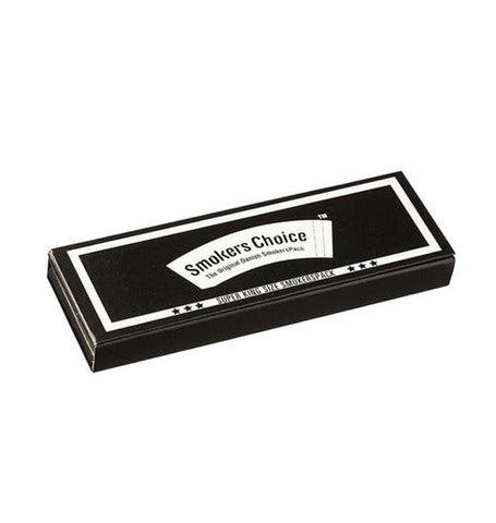 Smokers Choice 'SmokersPack' Super King Size - Black