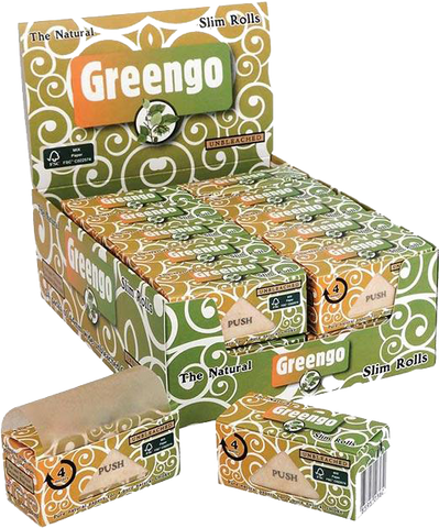 Greengo Slim Paper On Roll - 4 meters - Puff Puff Palace