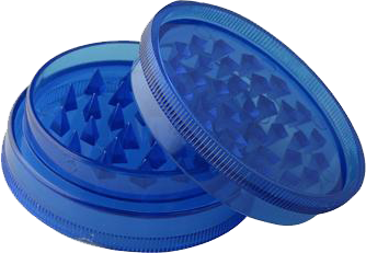 Plastic Grinder 60mm - Dark Blue - Puff Puff Palace
