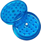 Plastic Grinder 60mm magnetic - Dark Blue - Puff Puff Palace
