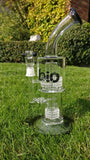 Bio Hazard Glass Bong 30cm - Puff Puff Palace