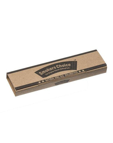 Smokers Choice 'Rolling Pack' King Size - Natural - Puff Puff Palace