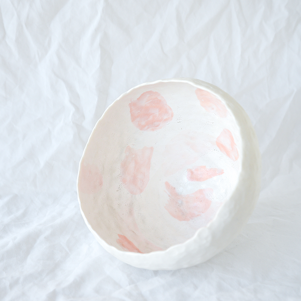 Pinched Porcelain Bowl Handmade By Melbourne Ceramicist Bec Smith