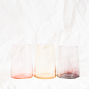 Blown glass handmade by Adelaide-based glass artist Bastien Thomas