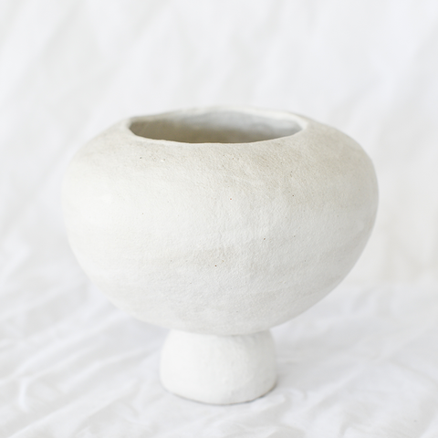 Ceramic kandila vessel by Melbourne ceramicist Dasa Ceramics