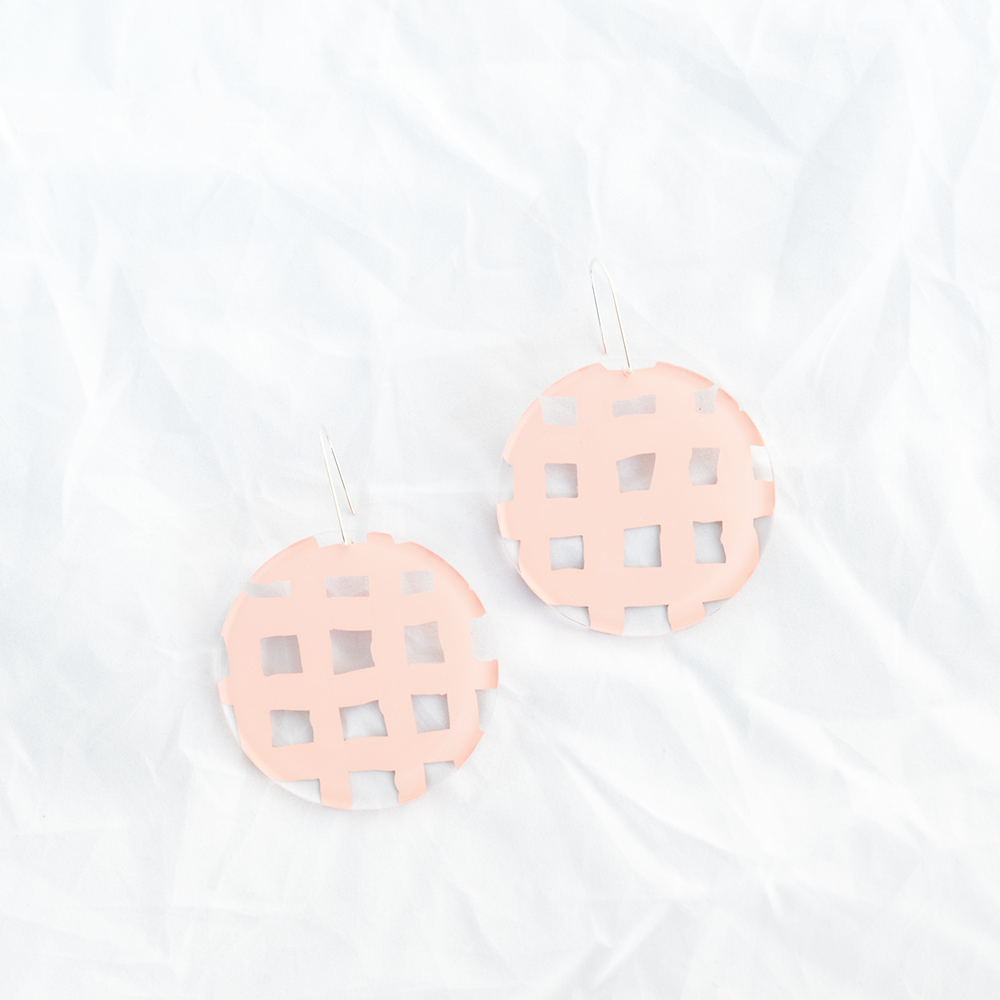 Bathroom Tiles Earrings