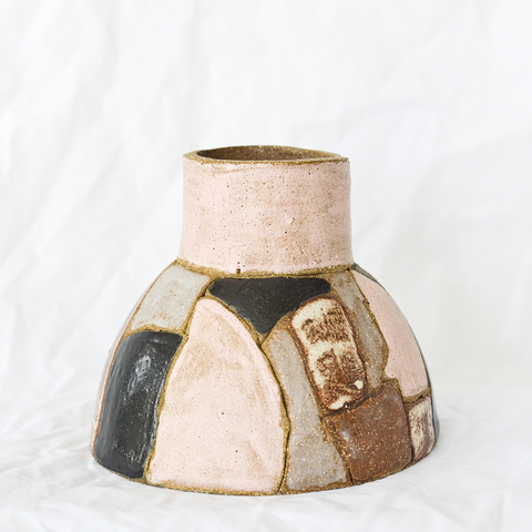 Ceramic vase by Debbie Pryor