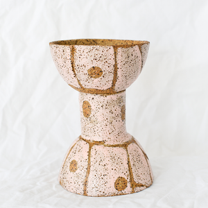 Ceramic double vase by Debbie Pryor