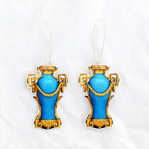 Pot Earrings - Vase A Monter