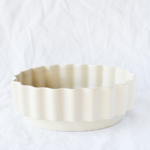 Ceramic serving dish handmade by Melbourne-based ceramicist Ella Reweti