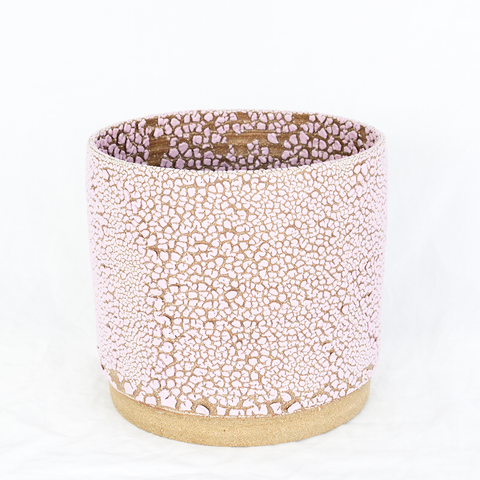 Large Crackle Planter