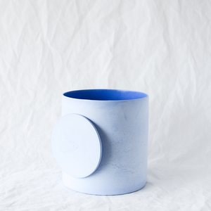 Stone vessel handmade by Sydney-based designer and maker Lauren Eaton of Home By Harlequin