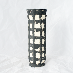 Driptopia Tall Black Vase