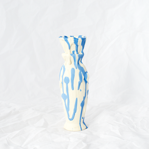 Driptopia Blue Bud Vase