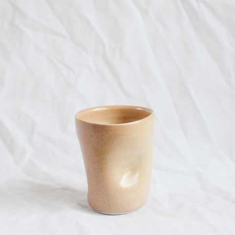 Ceramic Bump Cup handmade by Melbourne ceramicist James Lemon