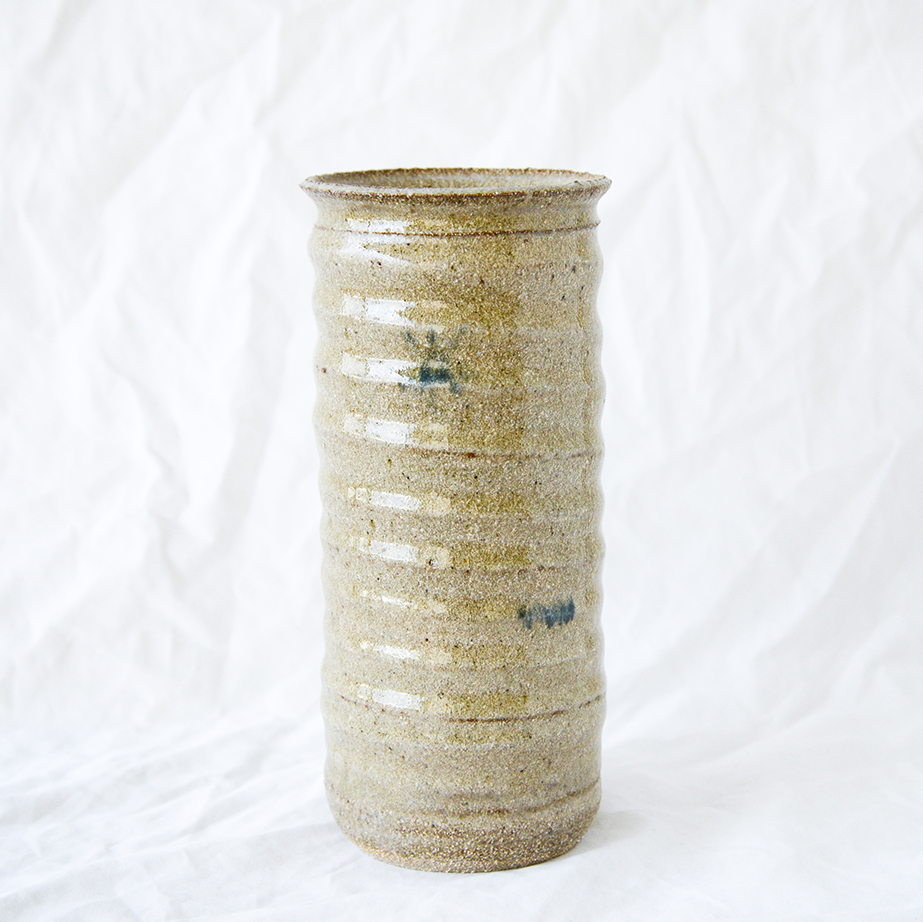 Tall Ceramic Vase Handmade By Melbourne Ceramicist Jade Thorsen