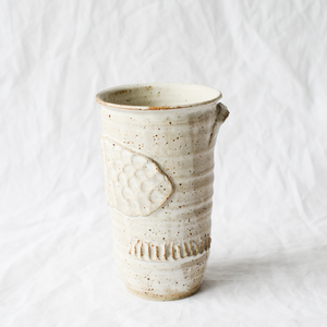 Ceramic vase by Melbourne ceramicist Jade Thorsen