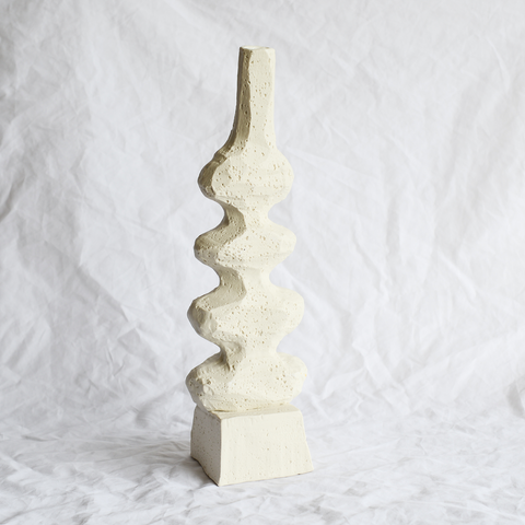 Ceramic Sculptural Vase Handmade By Melbourne Ceramicist Kirsten Perry