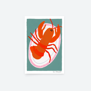 Red Lobster Print