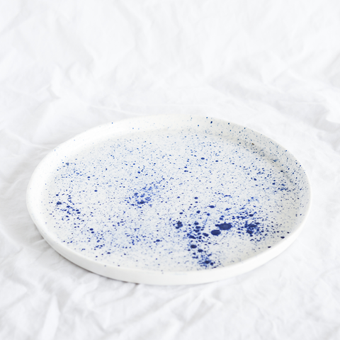 Ceramic Platter Handmade By Lucile From La Petite Fabrique De Brunswick