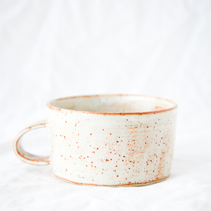 Ceramic Speckle Mug Handmade by Melbourne Ceramicist Melanie Channell
