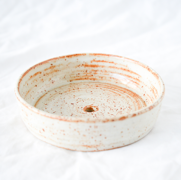 Ceramic Soap Dish Handmade by Melbourne Ceramicist Melanie Channell