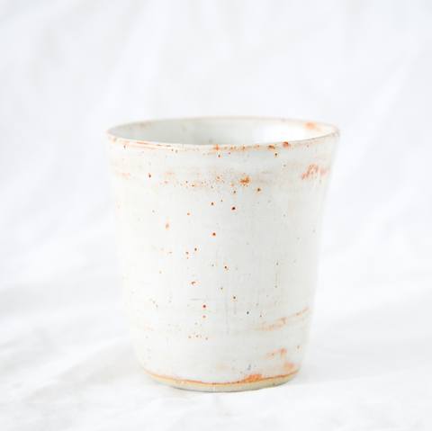 Ceramic Speckle Cup Handmade by Melbourne Ceramicist Melanie Channell