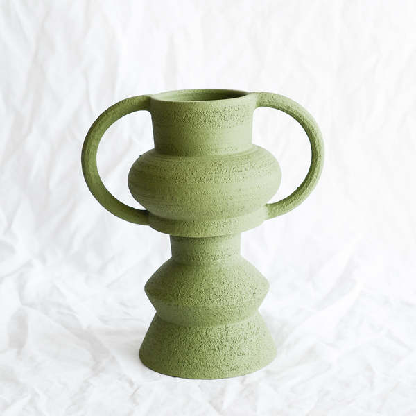Sculptural Ceramic Planter by Barcelona-based ceramicist Mari Masot