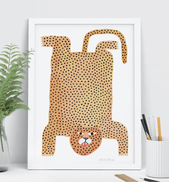 Limited edition print by Melbourne artist Penny Ferguson from Min Pin