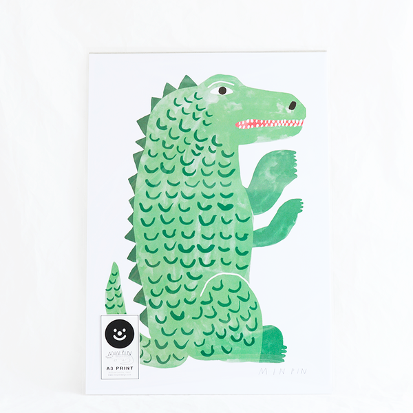Limited edition print by Melbourne-based designer Penny Ferguson from Min Pin