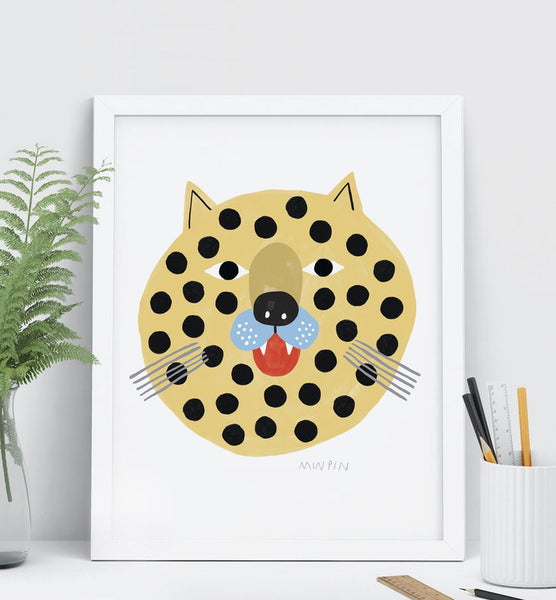 Print featuring original illustration by Melbourne designer Penny from Min Pin