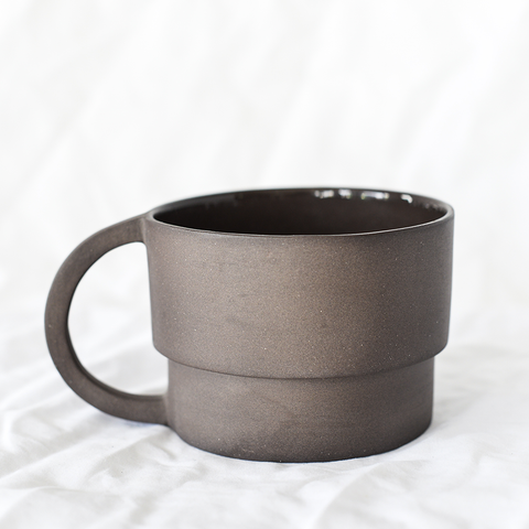 Ceramic mug by Danish ceramicist Lina Maria Lund from Nobel Design